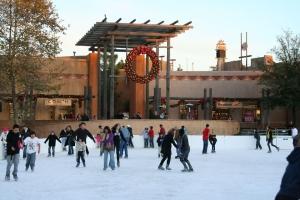 Viejas Shopping Center Ice Skating