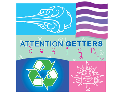 attention getters design